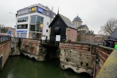 Volmolen en Spuihuis, restanten van een complex dat tot eind 15e eeuw zeven watermolens omvatte